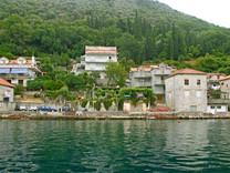 Просторная односпальная квартира с видом на море в Лепетани