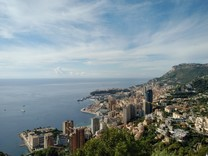 Трёхуровневая вилла с шикарным видом на Монако