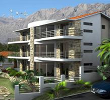 Апартаменты с двумя спальнями с видом на море в Доброта, продажа. №15769. ЭстейтСервис.