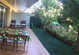 Четырёхкомнатная квартира с частным садом