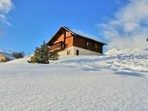 Коттедж с видом на горнолыжную зону в Valberg