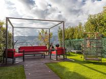 Новая квартира с большим частным садом в Ницце