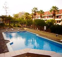 2х комнатная квартира с видом на бассейн в Плайя де ла Америкас, продажа. №13515. ЭстейтСервис.