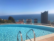 Квартира с большой террасой и видом на море в Босолей