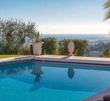 Вилла с шикарной панорамой на море и Ниццу, продажа. №38950. ЭстейтСервис.