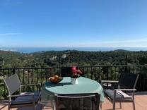 Вилла с панорамным видом на море в Плайя-де-Аро