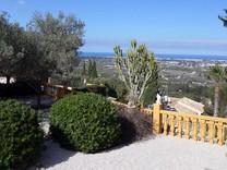 Вилла с бассейном и панорамным видом в La Xara