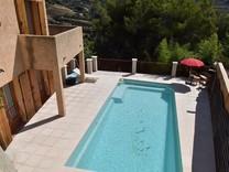 Дом с бассейном в Ницце, сектор Лингостьер