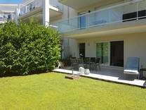Апартаменты с частным садом в комплексе с бассейном