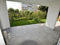 Новая студия с частным садом рядом с морем в Каннах