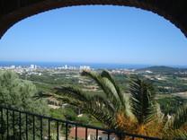 Вилла с панорамным видом на море в Кастелль де Аро