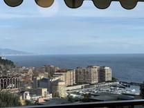 Квартира с видом на Монако и Стадион Louis II