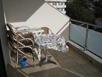 Квартира с 1 спальней с видом на море в Бечичах