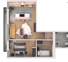 Трехкомнатные апартаменты в Sant Gervasi- Galvany, продажа. №38759. ЭстейтСервис.
