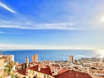 Пятикомнатный пентхаус с видом на море и Монако