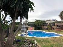 Семейный дом с видом на море в Кабрера-де-Мар