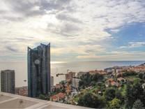 Квартира с большой террасой и видом на Monaco