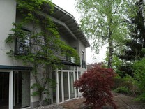 Дом с сауной и бассейном в Моосбурге