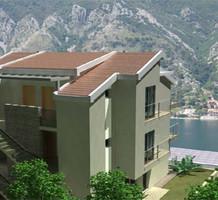 2х комнатная квартира в Доброте с террасой и видом на море, продажа. №11899. ЭстейтСервис.