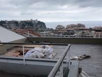 Пентхаус под ремонт с видом на море, Монако и Кап Дай
