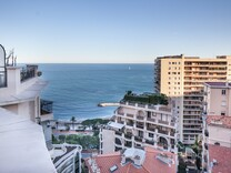 Пентхаус с видом Княжеский дворец и море в Монако