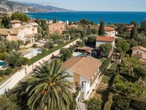 Вилла с бассейном в Roquebrune Cap Martin