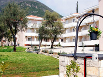 Апартаменты с двумя спальнями с видом на море в Дженовичи