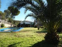 Просторный дом с видом на море в Calonge